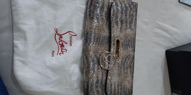 Louboutin snake glitter