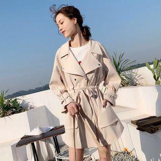 #MRTPunggol Brand New Beige Spring / Autumn Trench Coat