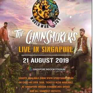 HTB The Chainsmokers Singapore Concert