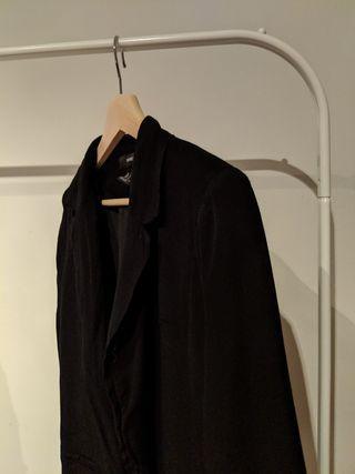 XXI 3/4 Sleeve Length Black Blazer Size Small