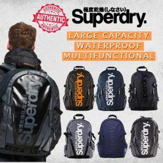 【SG DISTRIBUTOR】100% AUTHENTIC WATERPROOF SUPER DRY 21L BACKPACK LARGE CAPACITY 17 LAPTOP TRAVEL