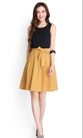 🚚 Lilypirates colour symmetry dress in mustard S