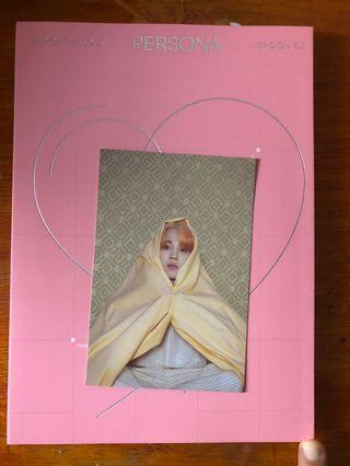 Postcard BTS jimin official album persona