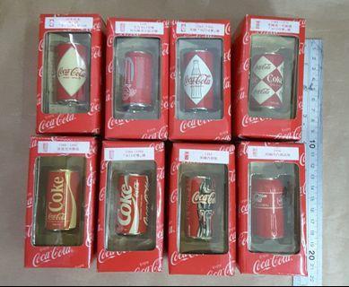 可口可樂 coca cola 精品 罐x8 ,請留意交收時間與地點