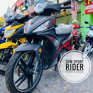 SYM Sport Rider 125cc 😍 iC & Slip Gaji 1 Bulan
