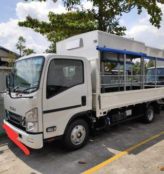14Ft canopy lorry with tailgate for rent