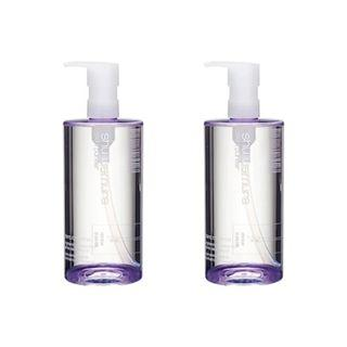 2Pcs Shu Uemura Blanc:Chroma Brightening & Polishing Gentle Cleansing Oil 15.2oz, 450ml