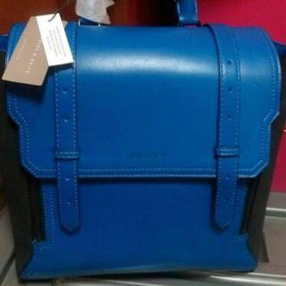 🚚 [全新現貨]Charles & Keith 寶藍色x後背包x通勤包