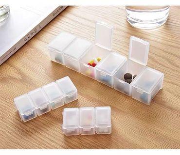 🚚 Detachable pill box / medicine case