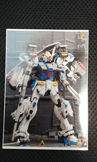 1/100 F-90 Gundam 高達 MG手辦改件連MG Wing Zero 手辦骨架