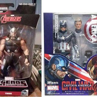 SHF Avengers 復仇者 Captain American Civil Wars 送 Marvel Legend Thor