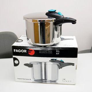 西班牙 FAGOR rapid Xpress 8 不銹鋼壓力煲