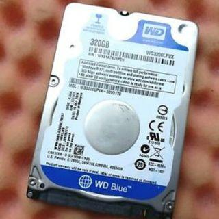 320 GB WD Blue Hard Disk Slim for Notebook