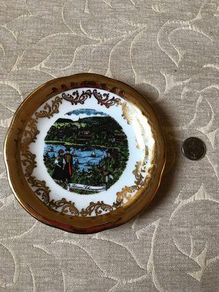Souvenir plate Germany