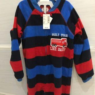 Sleepsuit boy stripe