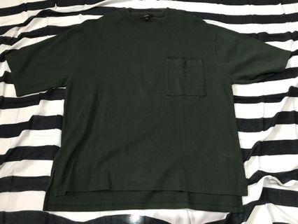 TOPTEN Men's Oversize T-Shirt Green