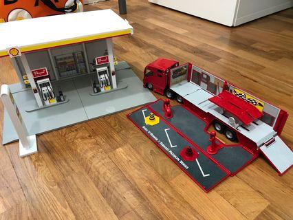🚚 SHELL station with truck