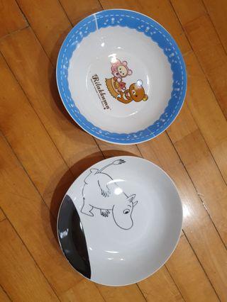 🚚 卡通磁餐盤