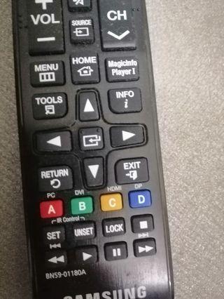 Blyray player remote control