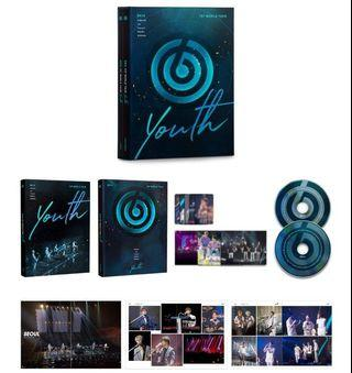 PRE ORDER DAY6 1ST WORLD TOUR 'YOUTH' DVD