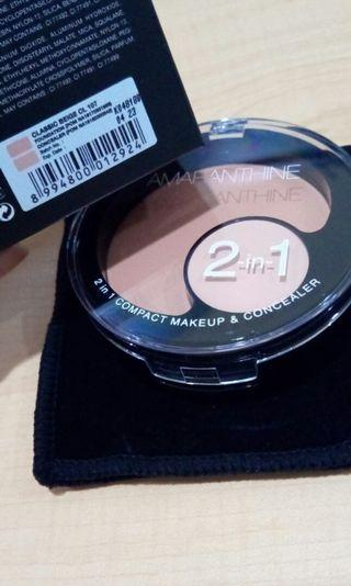 2in1 compact makeup & concelear