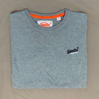 Grey Superdry tee top shirt