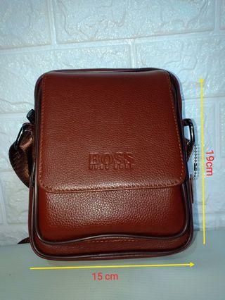 Sling Bag kulit asli baru tas selempang kulit