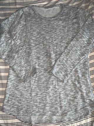 麻灰色孕婦/哺乳媽媽套裝