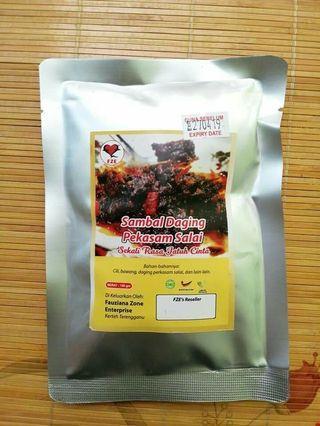 Sambal Daging Pekasam Salai
