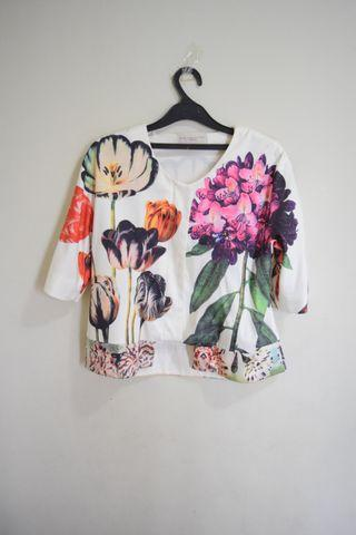 Stella McCartney Floral Print Outer