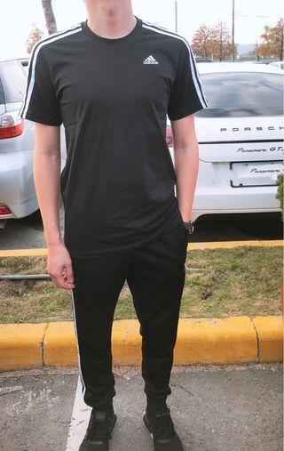 🚚 🔥前10件特價590 國外代購 Adidas 三線棉t 上衣 愛迪達logoT logot CW4668