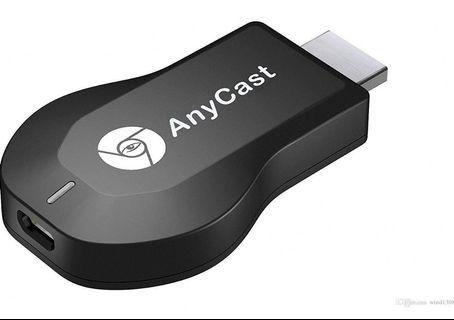 (A107) Finaux AnyCast M2 Plus DLNA/Wifi Display Receiver/Chromecast/Airplay WiFi Full HD HDMI TV Stick Dongle(Black)
