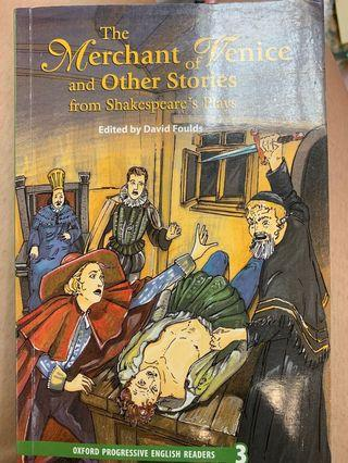The Merchant of Venice and Other Stories from Shakespeare's Play — 中學英國文學教科書