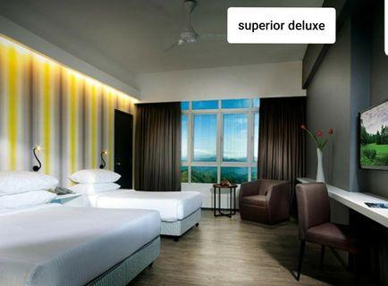Good Vibes. First World Superior Deluxe room. 20,21/5