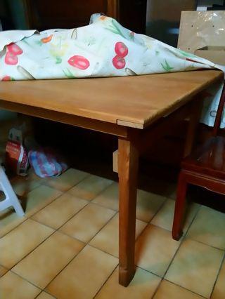 松木餐桌6~8人