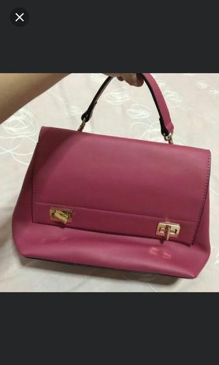Handbag Pink/ Tas Jinjing Wanita