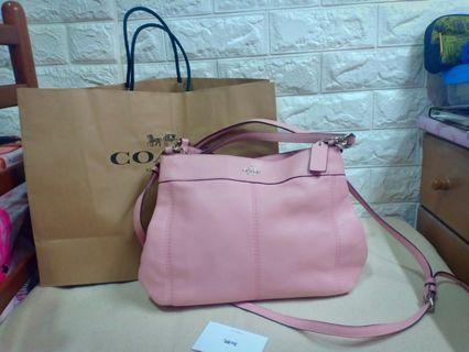 authentic coach lexy nude pink two way not ks ,mk,dkny,lacoste