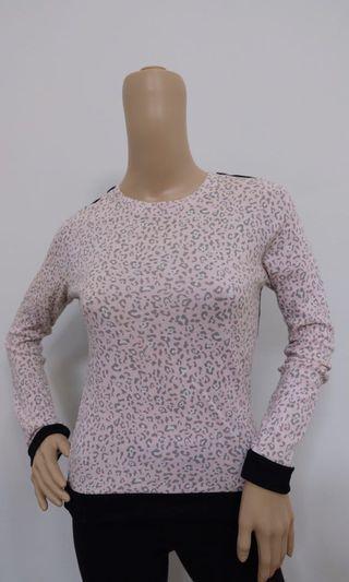 Leopard Pink Long Sleeve