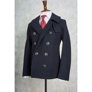 Burberry Black Wool DB Peacoat (Pre-Owned)