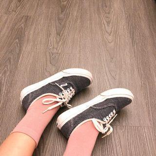 Vans authentic 韓妞の小厚底帆布鞋