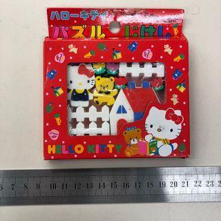 Sanrio 1987年 Hello Kitty 擦膠 set