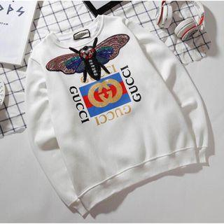 GUCCI (INSPIRED) WHITE SWEATER (SIZE:L) RM29