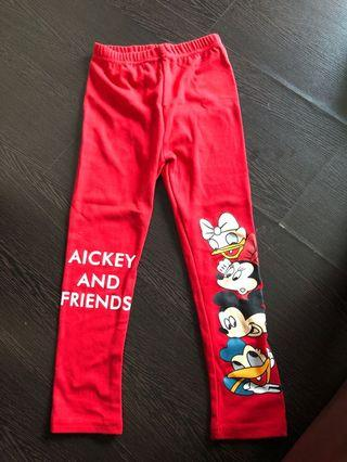 🚚 Mickey and friends Leggings