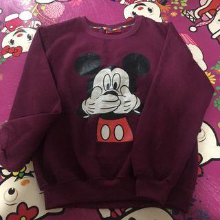 Sweater crewneck micky mouse
