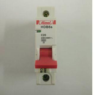 Himel HDB6s MCB 1P 20A 230V