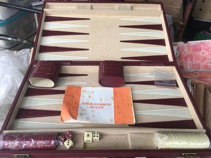 🚚 Dunhill Backgammon Set