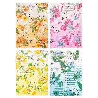 Japan Imported / Japan Disneystore : File Set Series: 4 PC Disney Summer Colors File