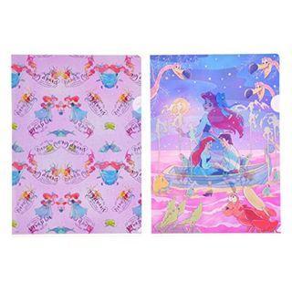Japan Imported / Japan Disneystore : Disney File Series  : The Little Mermaid Shiny file
