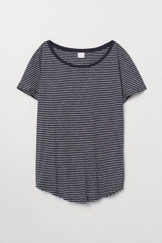 H&M Basics Stripe Shirt