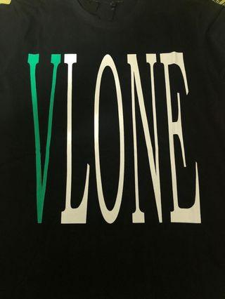 Vlone Tee Black Green